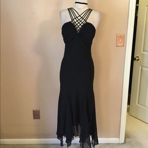 Vintage 90's sexy Strappy handkerchief dress 6 SM